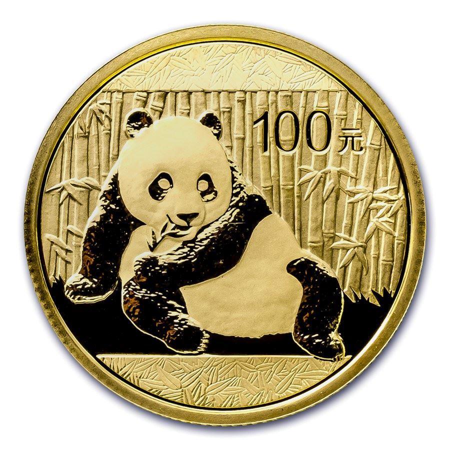 מטבע זהב פנדה