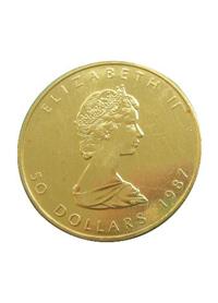מטבע זהב עלה אדר