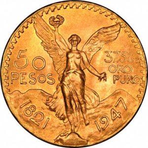 מטבע זהב חמישים פזו