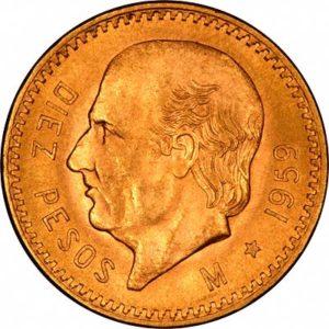peso gold coin