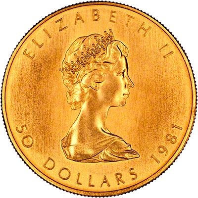 elizabeth gold coin