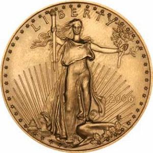 gold ounce coin