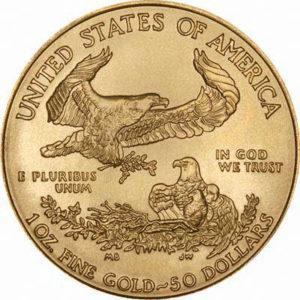 """מטבע זהב ארה""""ב"""