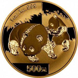 chinese panda gold coin