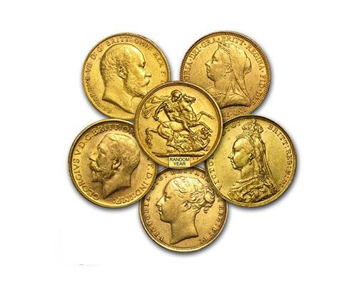 למכור מטבעות זהב